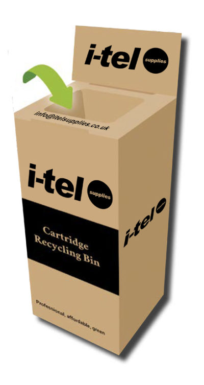 Order cartridge recycling boxes
