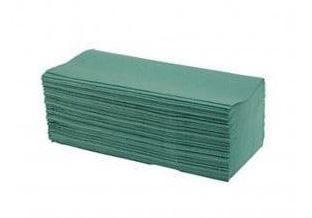 Hand Towels C Fold Green (2850 Sheets)