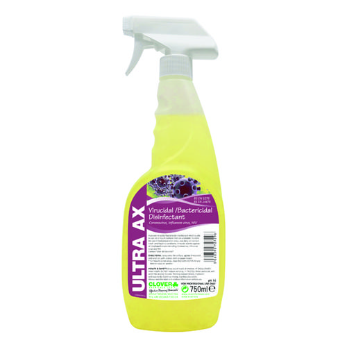 Ultra AX Virucidal Disinfectant Spray (750ml)