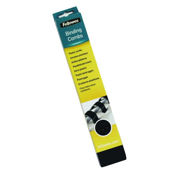 Fellowes 32mm Black Binding Comb Pk50