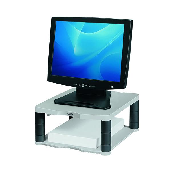 Fellowes Premium Platinum Monitor Riser