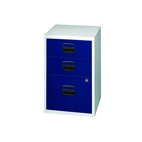 FF Bisley 3 Drw Filer Grey Blue