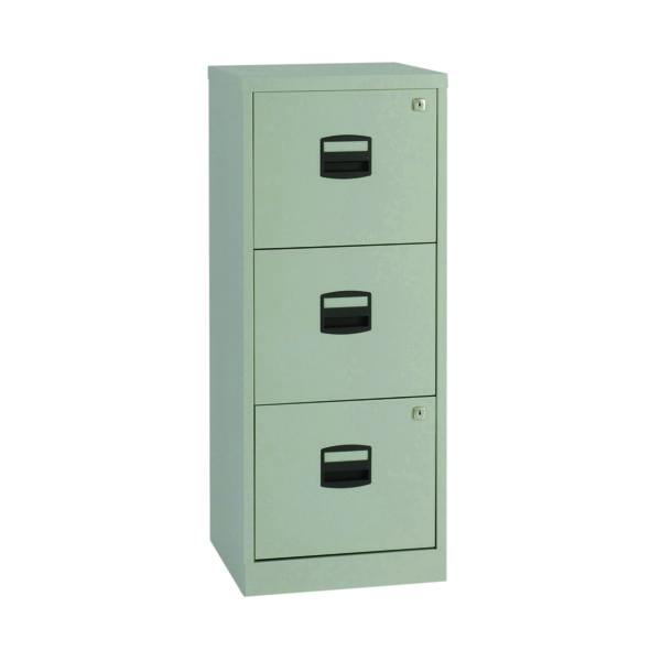 FF Bisley 3Drw A4 Personal Filer Grey
