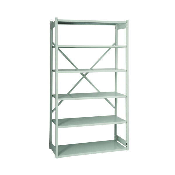 Bisley Shelving Kit W1000xD460mm Grey