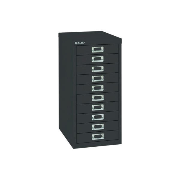 FF Bisley 10 Multi Drawer Black