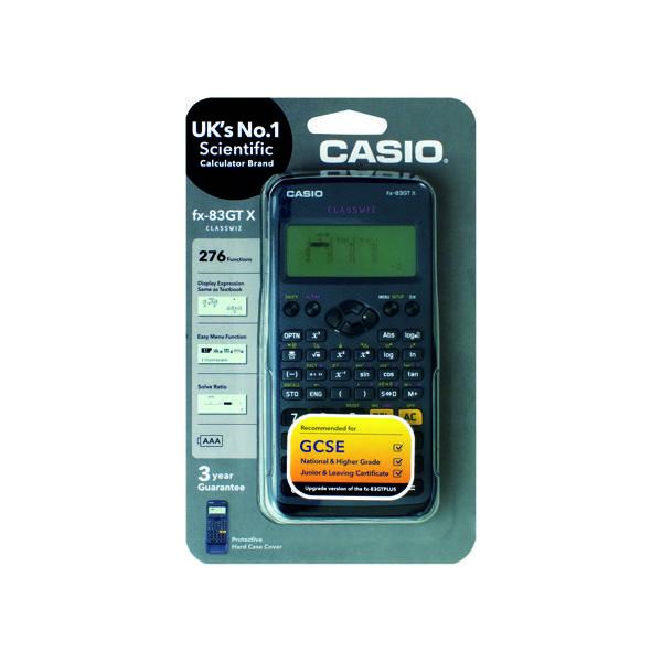 Casio Scientific Calc FX-83GTX  Black