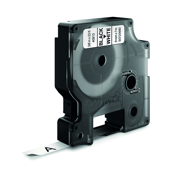 Dymo 1000 Label Tape 9mm Black White