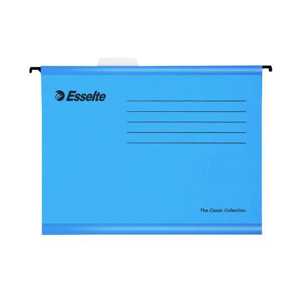 Esselte Cl/Eco Blue Fc Susp Files Pk25