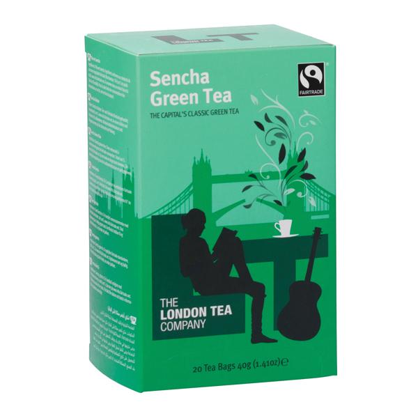 London Tea Sencha Green Tea Pk20