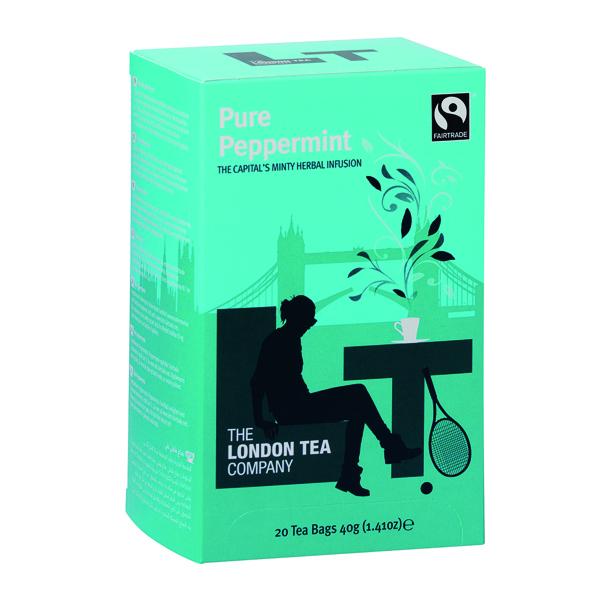 London Tea Peppermint Tea Pk20