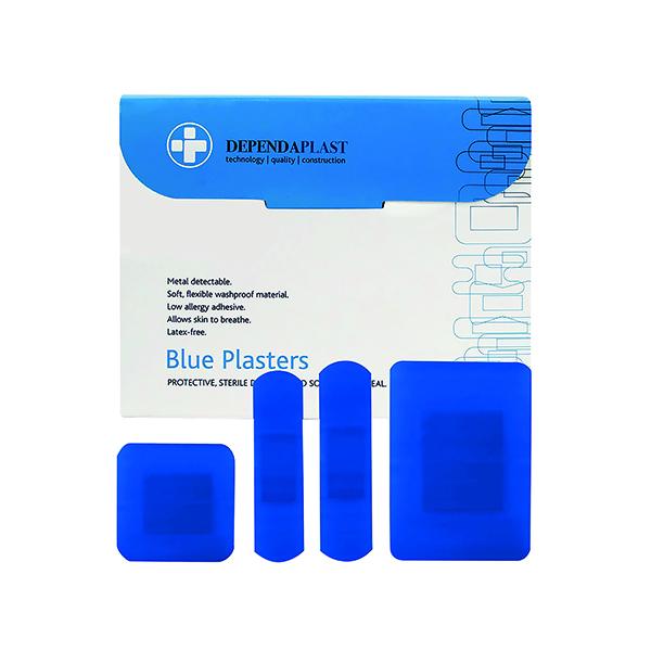 Reliance Blue Plasters Astd Pk100
