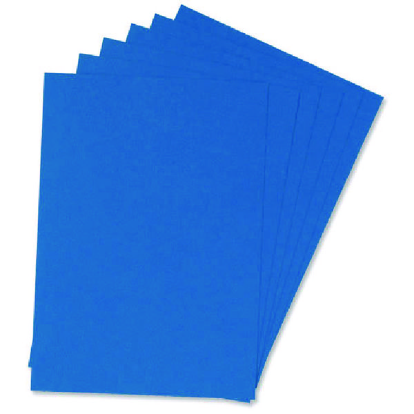 Q-Connect Blue A4 Binding Covers Pk100