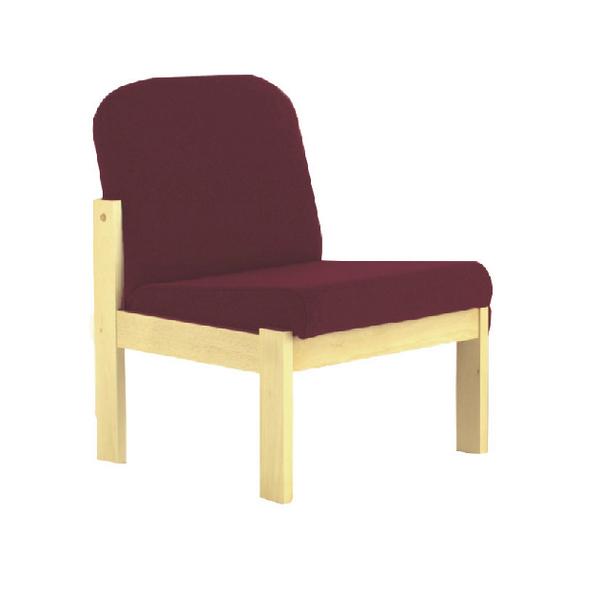 FF Arista Claret Recept Seat Bch Veneer