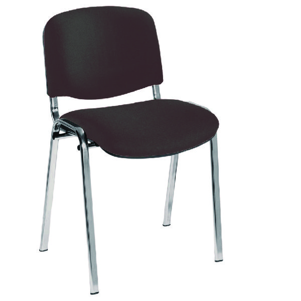 Jemini Ult Stacker Chair Chrome Charcoal