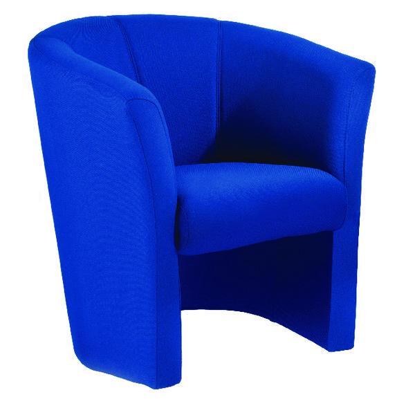 FF Arista Blue Tub Chair Fabric