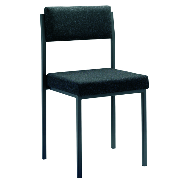 FF Jemini Stacking Chair Charcoal