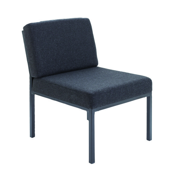 FF Jemini Charcoal Reception Chair