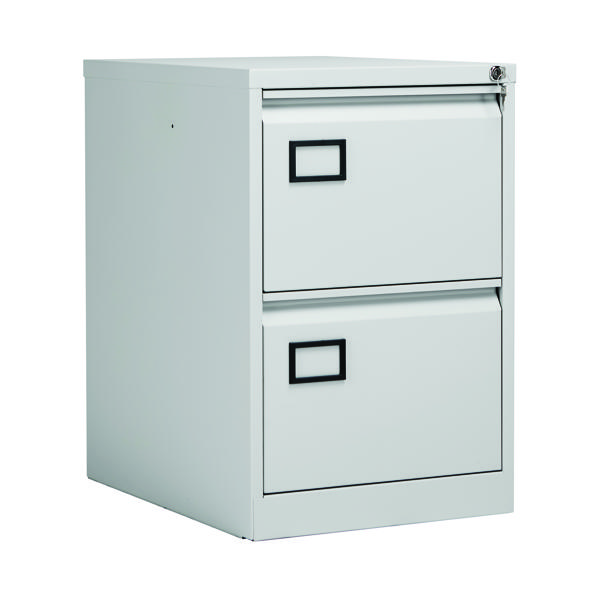 Jemini 2 Drw Filing Cabinet L Grey