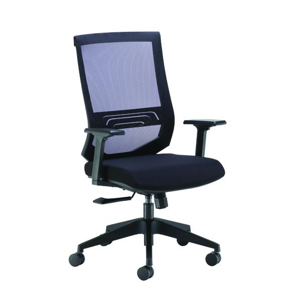 FF Arista Octave H/Bck M/Chair Blk