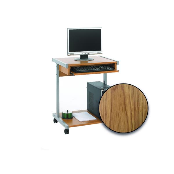 FF Serrion 650 Computer Stand Oak
