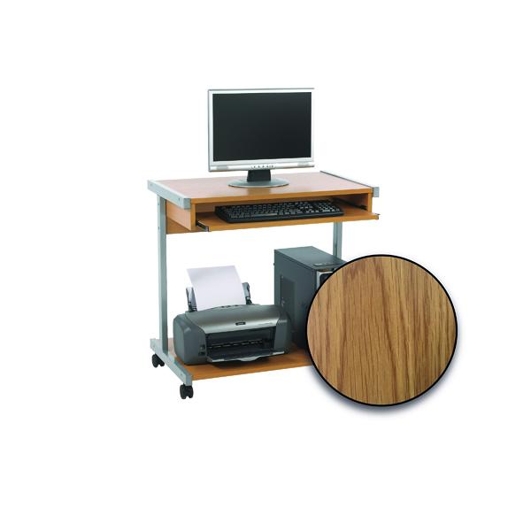 FF Serrion 800 Computer Stand Oak