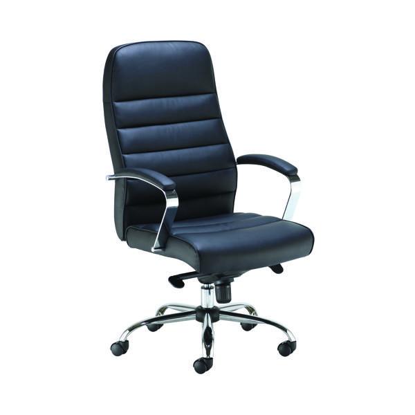 FF Jemini Ares Exec PU Chair Black