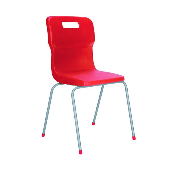 FF DD Titan 4Leg Pp School Chr Size3 Red