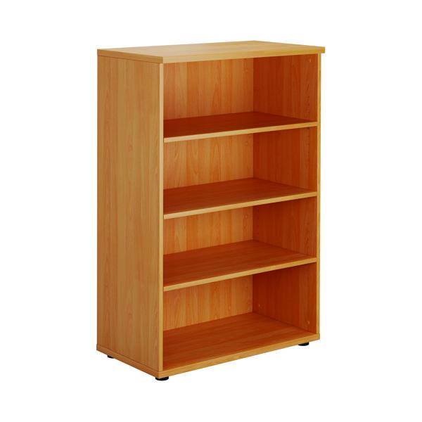 FF Serrion 1200mm Medium Bookcase Beech