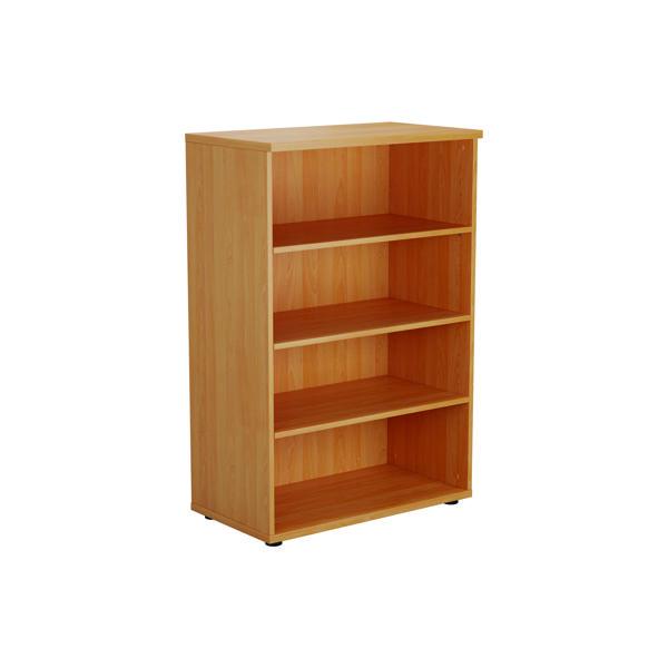 FF Serrion 1200mm Medium Bookcase Oak