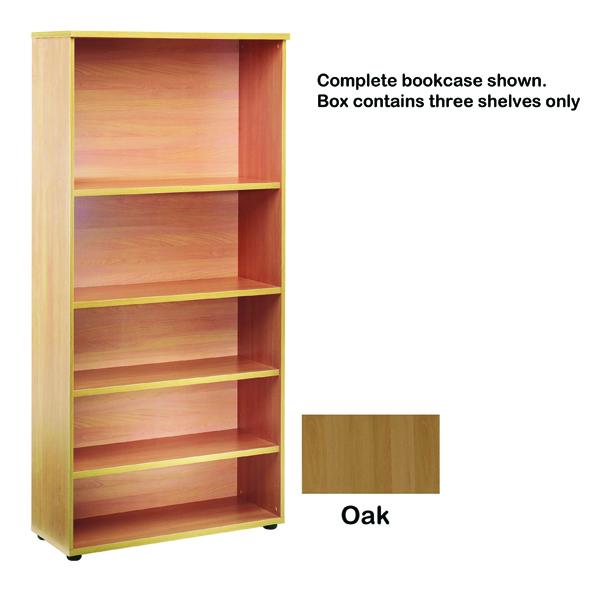 FF Jemini Open Storage Shelf Oak
