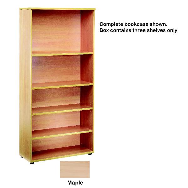 FF Jemini Open Storage Shelf Maple