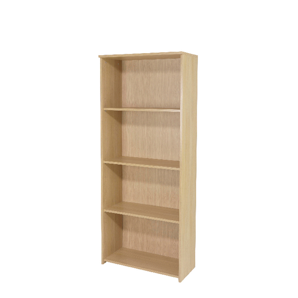 FF Serrion 1750mm Large Bookcase Maple