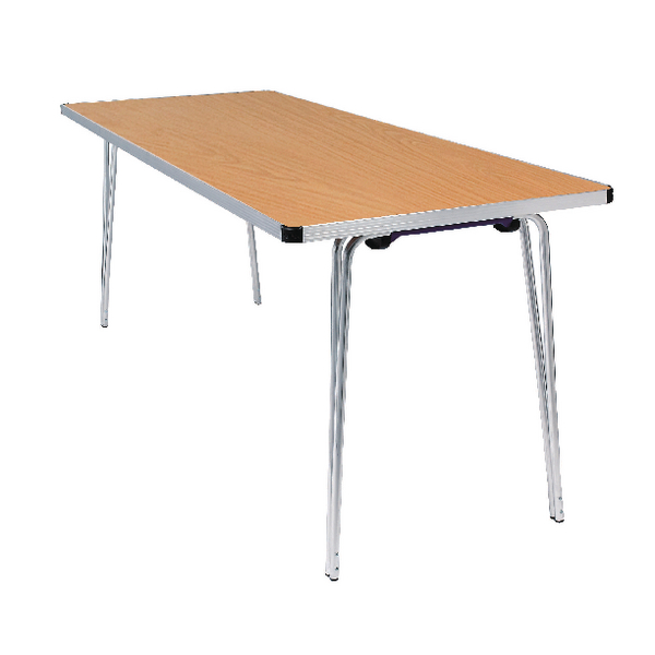 FF Jemini Folding Table 1830 Oak