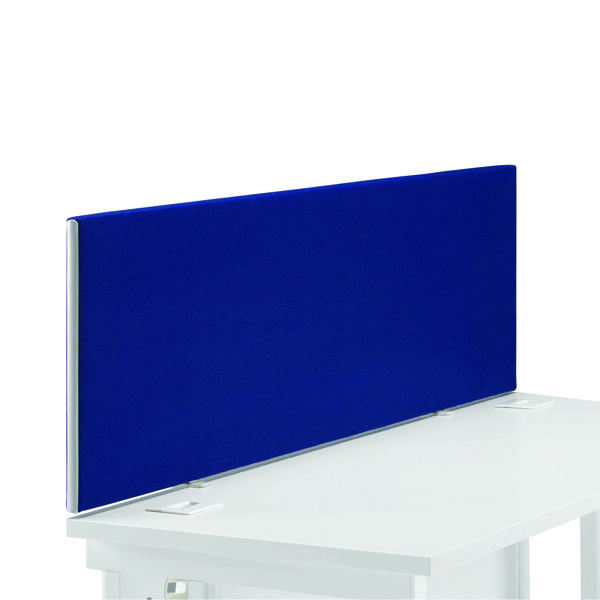 FR First Desk Screen 400H X 1400W Blue