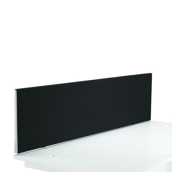 FR FIRST DESK SCREEN 400HX1600W BLACK