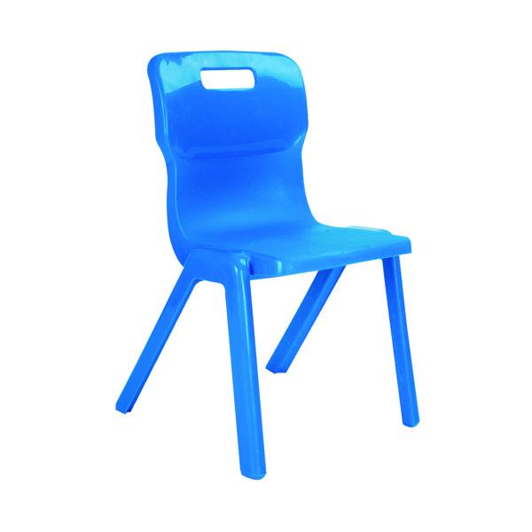 FF Titan 1 Pce Size 1 Blue School Chair