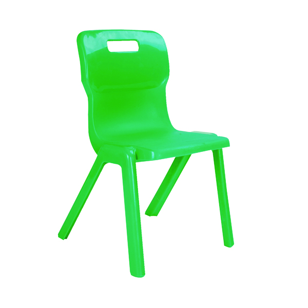 FF Titan 1 Pce Size 1 Grn School Chair