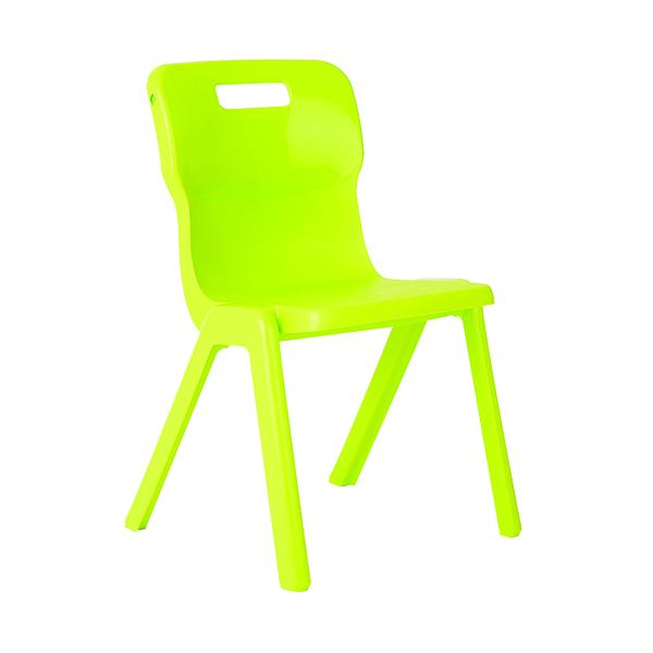 FF Titan 1 Pce Size 2 Lime School Chair