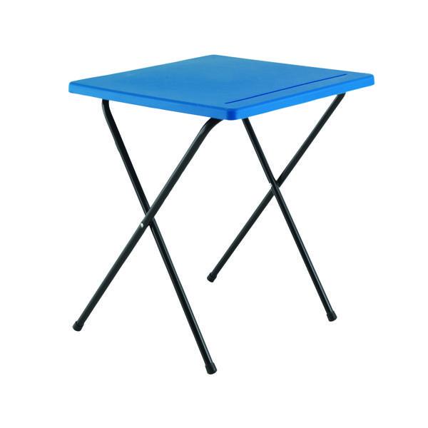 FF Titan Folding Exam Desk PP Blue