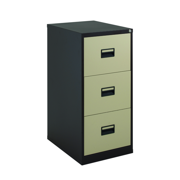FR Talos 3 Drawer Filing Cabinet CCream
