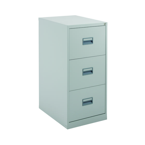 FR Talos 3 Drawer Filing Cabinet Grey