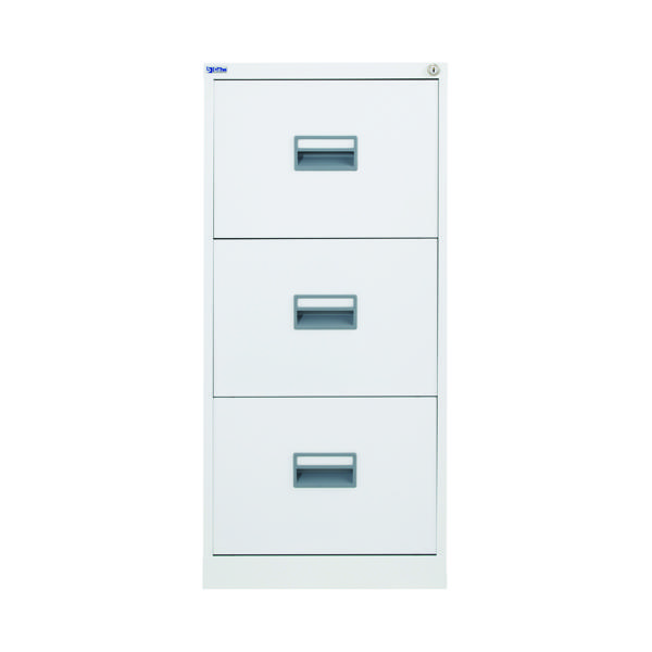 FR Talos 3 Drawer Filing Cabinet White