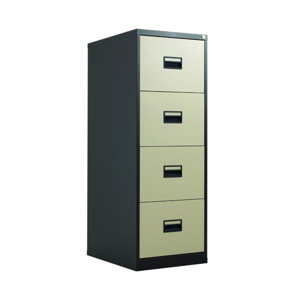 FR Talos 4 Drawer Filing Cabinet CCream