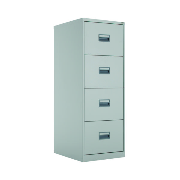 FR Talos 4 Drawer Filing Cabinet Grey