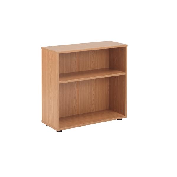 FF Jemini 18 Oak 720mm Desk Bookcase