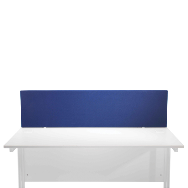 FF Jemini Blue 800mm Strght Desk Screen