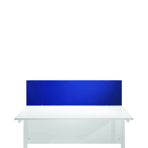 FF Jemini Blue 1200mm Strt Desk Screen