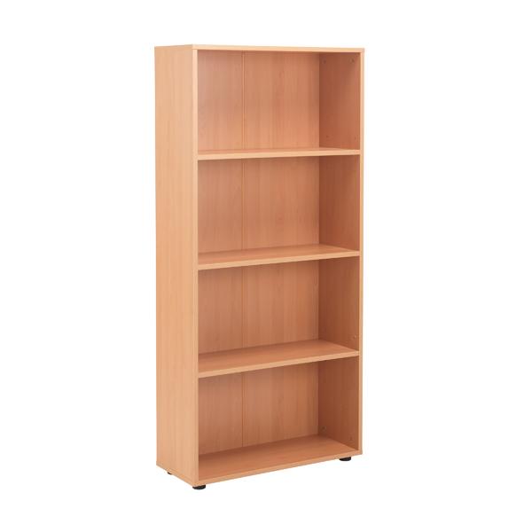 Jemini  Desk High Bookcase 1620mm Beech