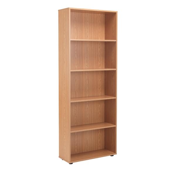 Jemini 18 Desk High Bookcase 2004mm Oak