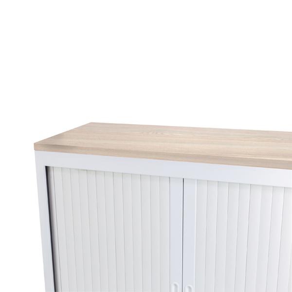 Talos Cupboard Wooden Top Grey Oak